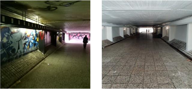 Obnovljen podzemni prolaz u Ulici Jurija Gagarina