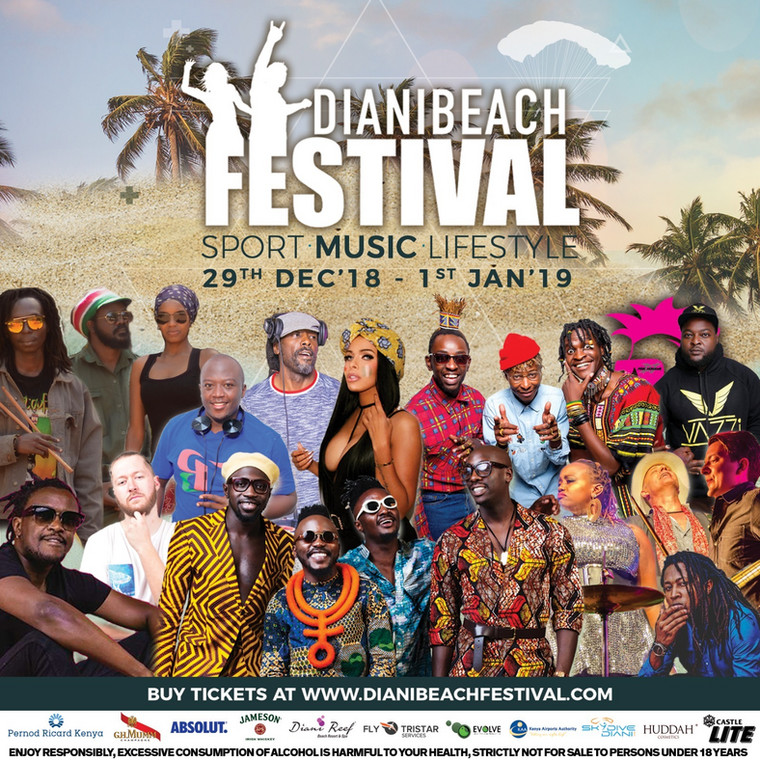 2nd Edition of Diani Beach Festival