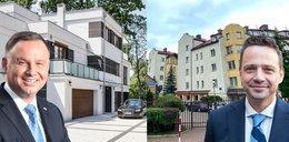 Duda vs. Trzaskowski - różne poglądy i różne style życia. Luksusowy apartament kontra mieszkanie w bloku