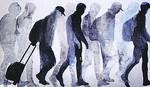 Štancovanje ljudskih sudbina: Galerija Kolarčeve zadužbine ispunjena je prizorima izbeglica u prirodnoj veličini