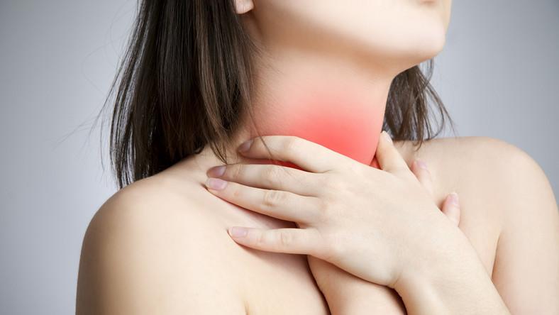 błonica angina gardło ból gardła migdałki