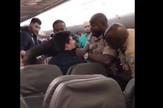 nepristojni putnik incident avion