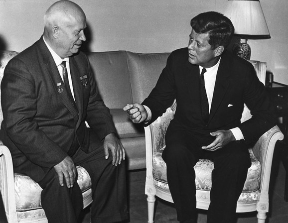 Džon Kenedi i Nikita Hruščov