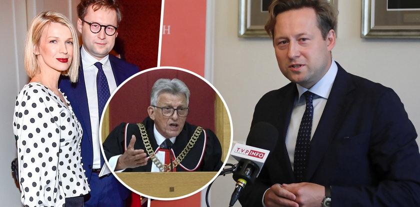 Stawiał czoła sędziemu Piotrowiczowi w boju o niezawisłe sądy. Śmiały prawnik Maciej Taborowski to mąż znanej dziennikarki