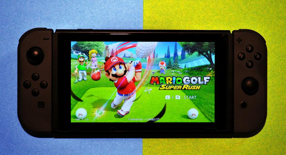 Mario Golf Super Rush DB