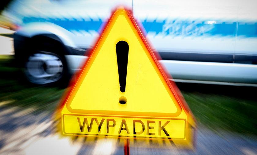 Niebezpieczny wypadek w Dąbrowie Górniczej.