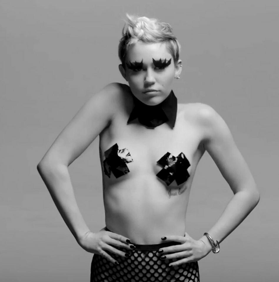 """Miley Cyrus i szokujący teledysk do """"Tongue-Tied"""""""