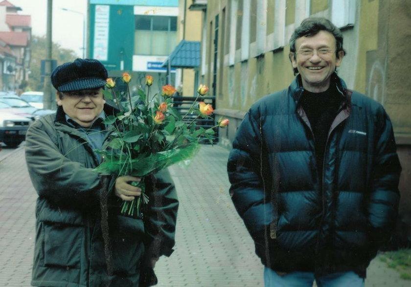 Janusz Kondratowicz z Ryszardem Poznakowskim z Trubadurów