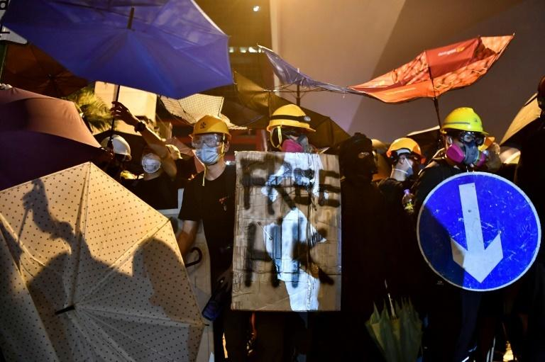 Hong Kong has been rocked by six weeks of political violence