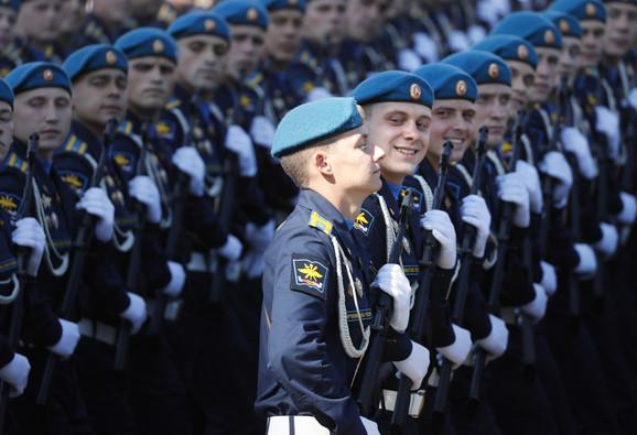 Parada u Moskvi