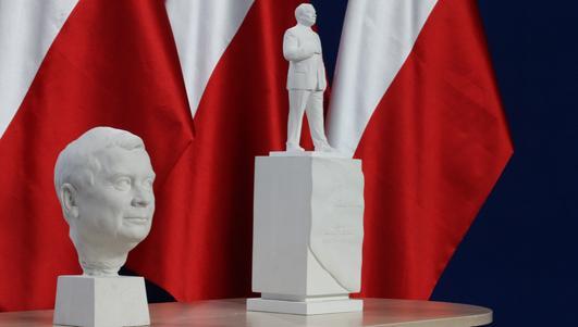 Wybrano projekt pomnika Lecha Kaczyńskiego