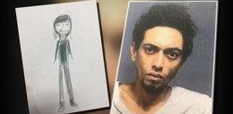 11-latka narysowała portret pamięciowy. Pomógł złapać złodzieja
