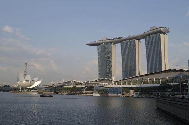 Singapur, Marina City