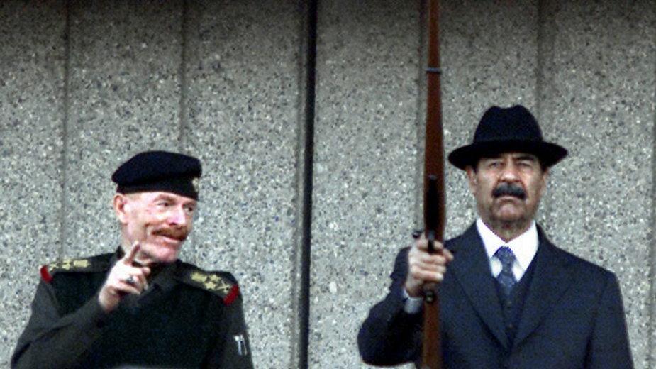 Izzat Ibrahim al-Douri i Saddam Husajn