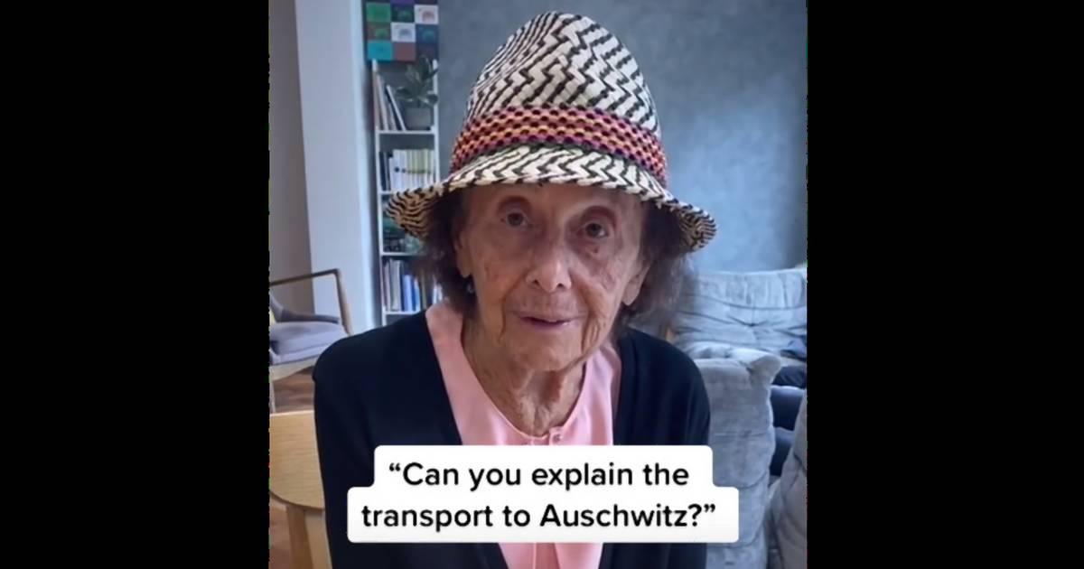 TikTokon mesél a földi pokolról Lili, a 97 éves magyar néni, aki megjárta Auschwitzot