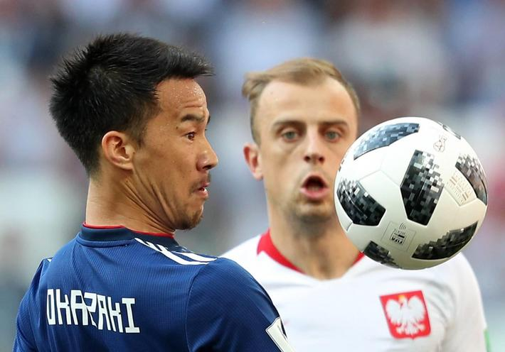 2018 FIFA World Cup group stage: Japan vs Poland