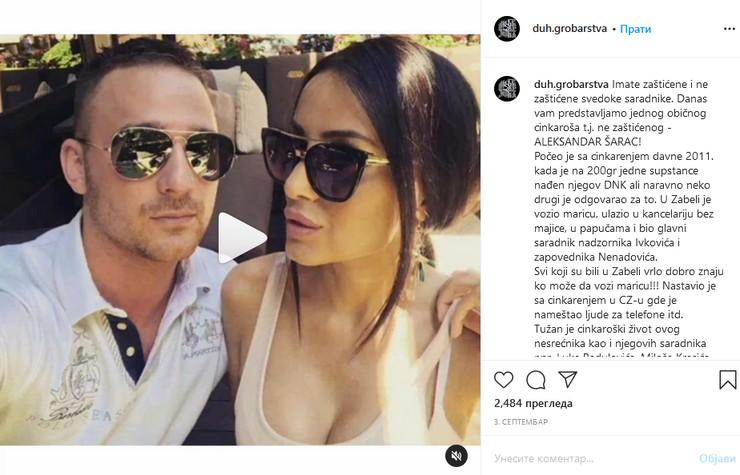 Pretnje na Instagramu