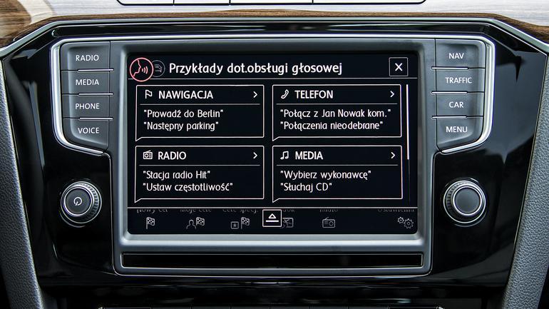 VW sterowanie głosowe