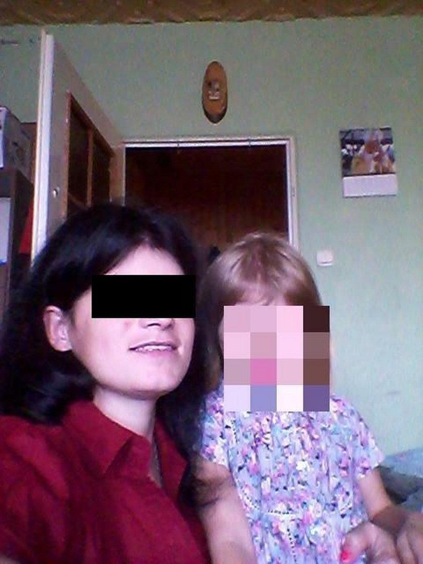 Edyta M. z córeczką