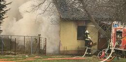 Kobieta i mężczyzna zginęli w pożarze. Wcześniej zostali pobici i skrępowani