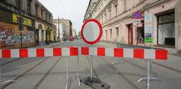 Zielona wciąż zamknięta po rozbiórce kamienicy