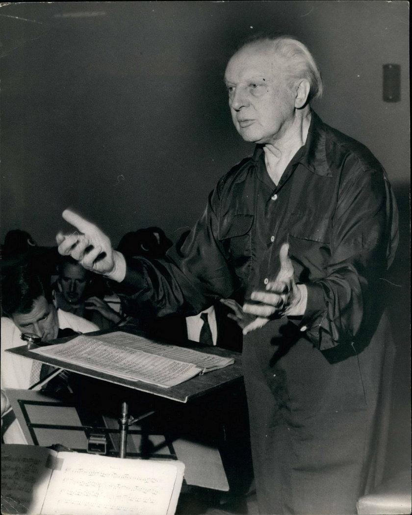 Leopold Stokowski w 1963 roku