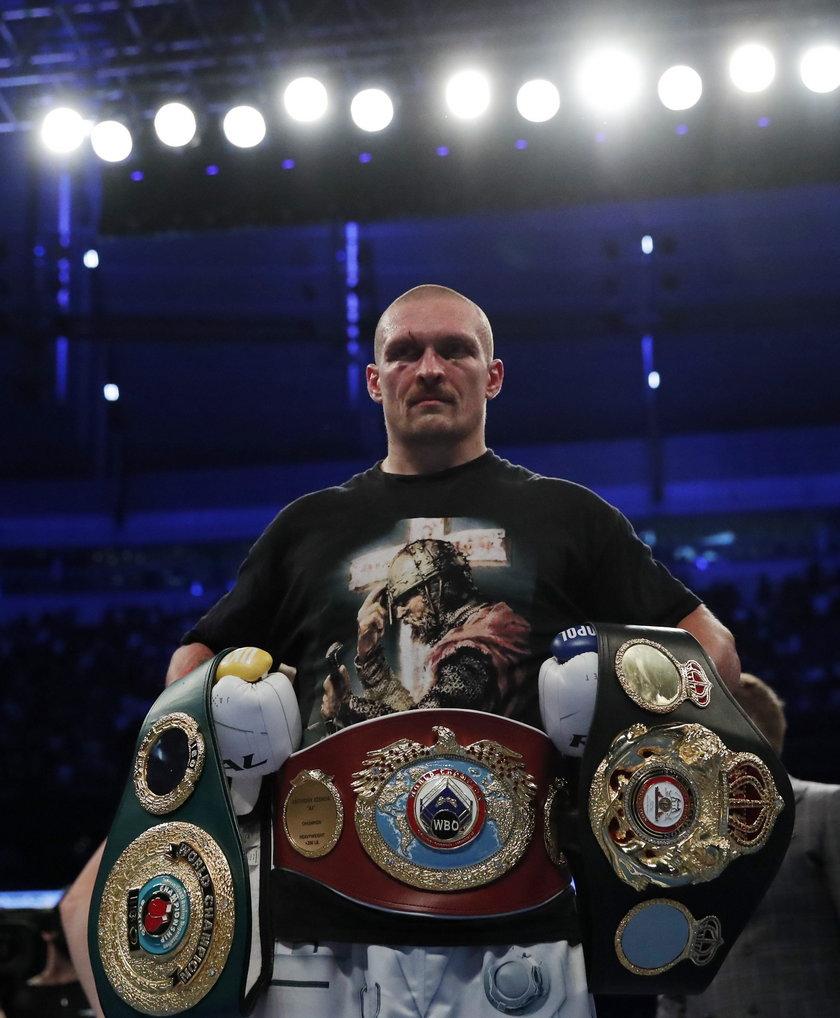 W wadze ciężkiej jest dwóch mistrzów świata, którzy mają pasy czterech najpotężniejszych zawodowych federacji. Fury jest czempionem WBC, a Usyk – WBA, WBO i IBF.