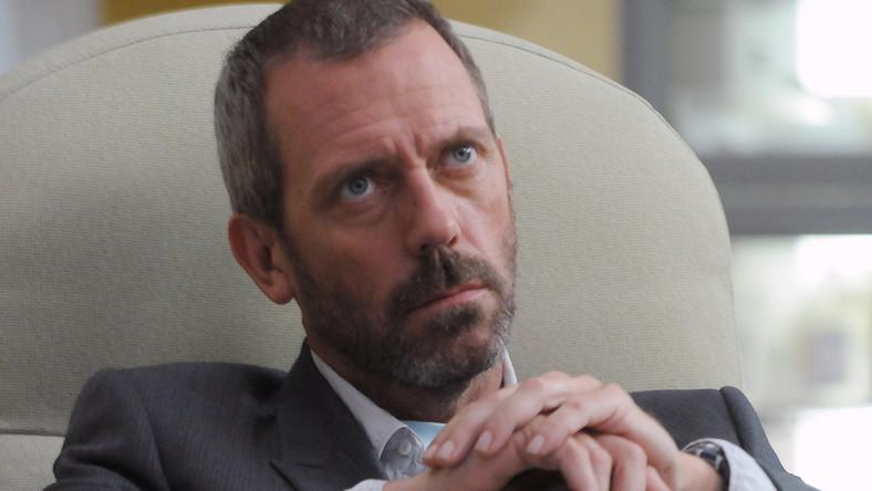 "Hugh Laurie w serialu ""Dr House"""