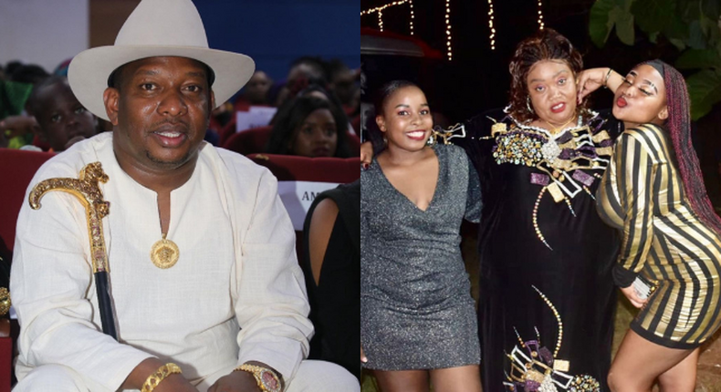 Mike Sonko pampered by his family as he turns a year older amidst his tribulations