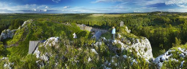 Gród na Górze Birów w Podzamczu