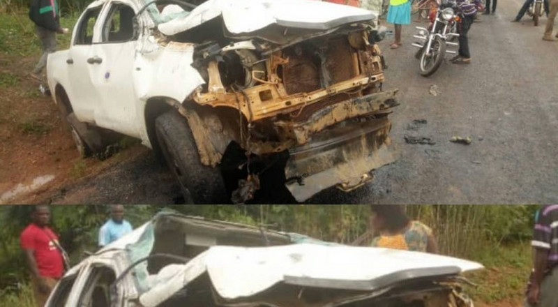 500,000 cedis stolen in bullion van accident