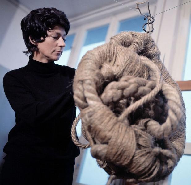 Magdalena Abakanowicz w latach 70.