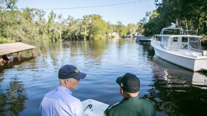 Huragan Irma wyrządził znaczne szkody w stanie Floryda