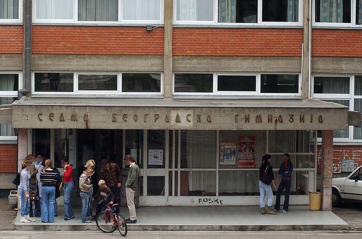 sedma beogradska gimnazija foto RAS goran srdanov