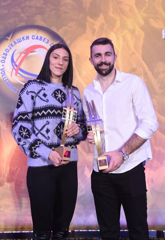 Tijana Bošković i Uroš Kovačević
