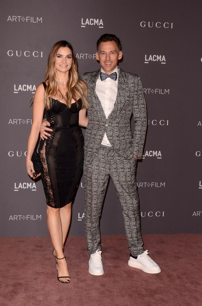 Poznati par u Los Anđelesu: Marija u izazovnoj odeći, Lubin u originalnom odelu