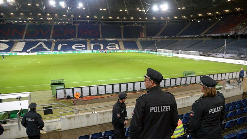 Policja pilnuje piłkarzy reprezentacji Niemiec