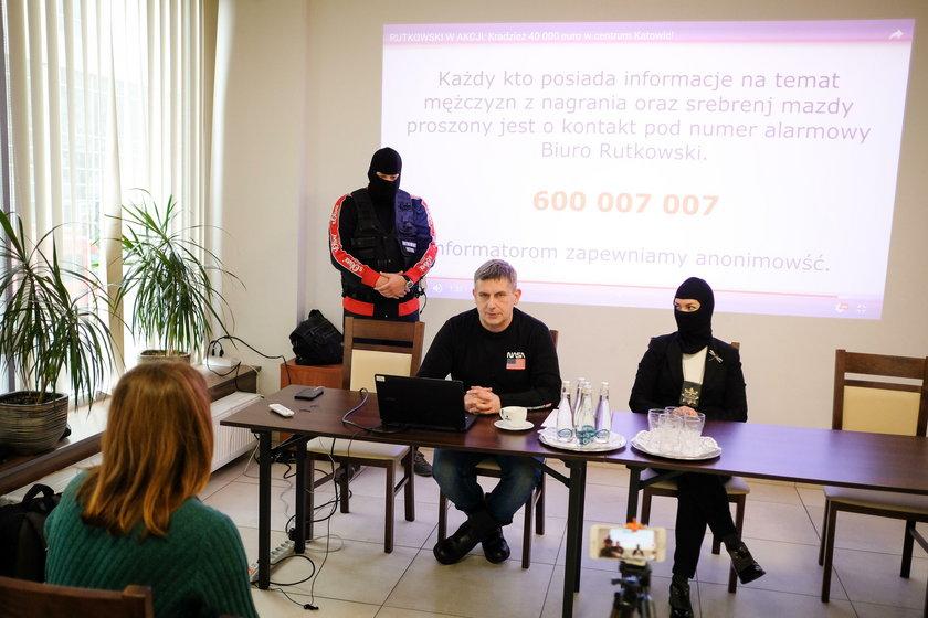 Detektyw Rutkowski szuka sprawców napadu rabunkowego w Katowicach