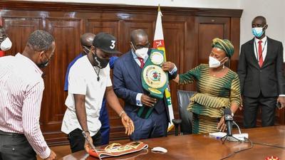 Be disciplined and humble – Speaker advises boxer Emmanuel Tagoe