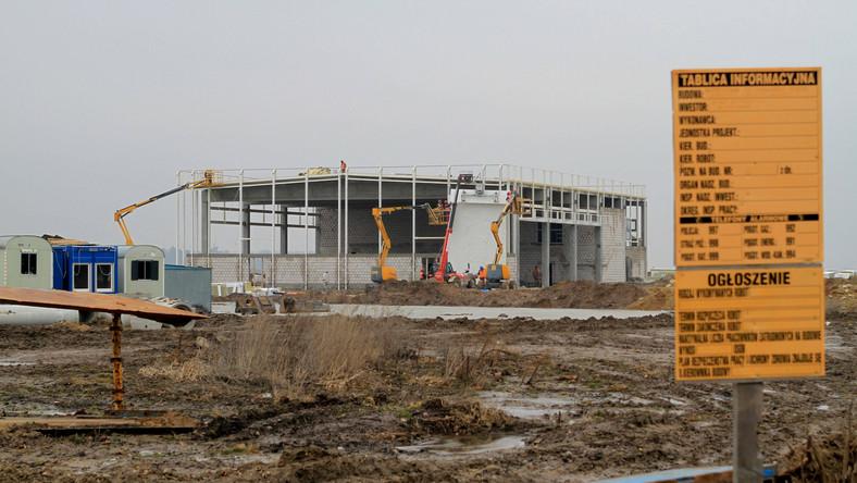 Budowa portu lotniczego w Świdniku