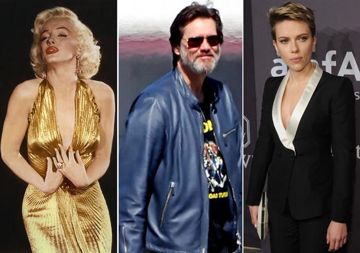 Marilyn Monroe Jim Carrey Scarlett Johansson profimedia-0308999422