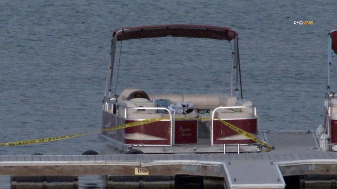 Brod sa kog je nestala Naja Rivera