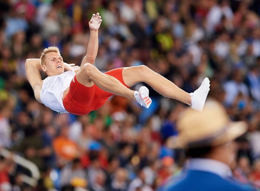 Polski lekkoatleta walczy w szpitalu