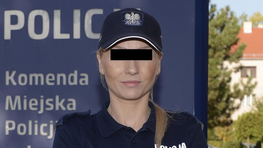 Policjantka z narkotykami