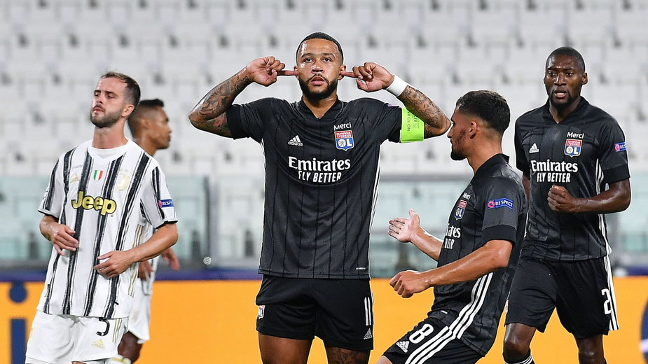 Radość piłkarzy Olympique Lyon