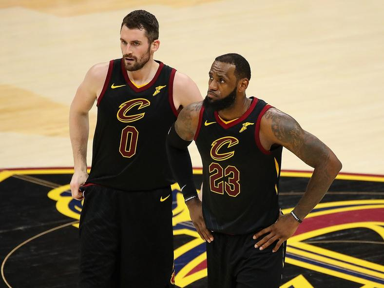 Kevin Love had to make sacrifices to play with LeBron James.