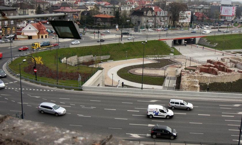 Rondo Mogilskie w Krakowie