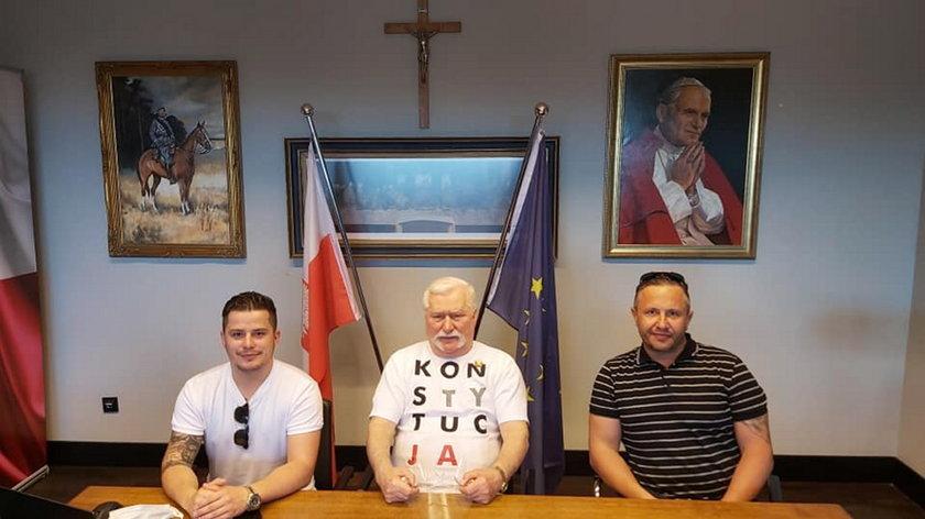 Bracia Collinsowie i Lech Wałęsa