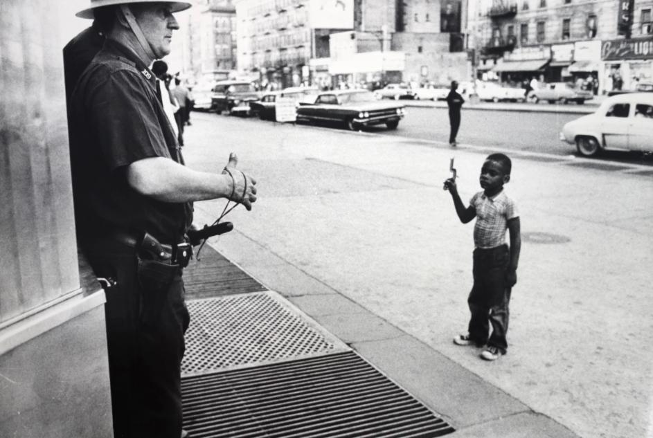 Zamieszki na tle rasowym, Harlem, Nowy Jork, 1964 r.