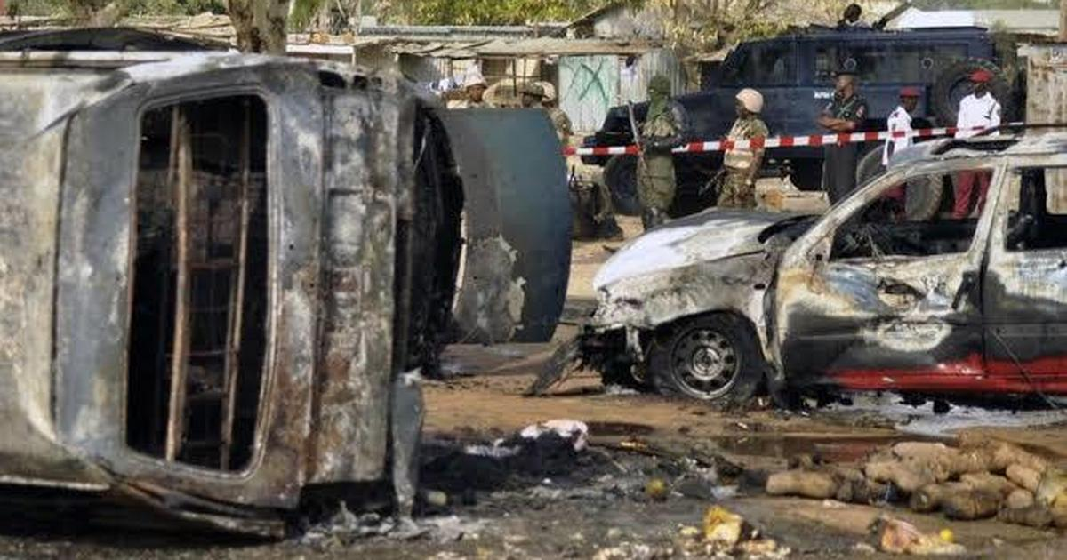 25 persons burnt to death in Bauchi auto crash - Pulse Nigeria